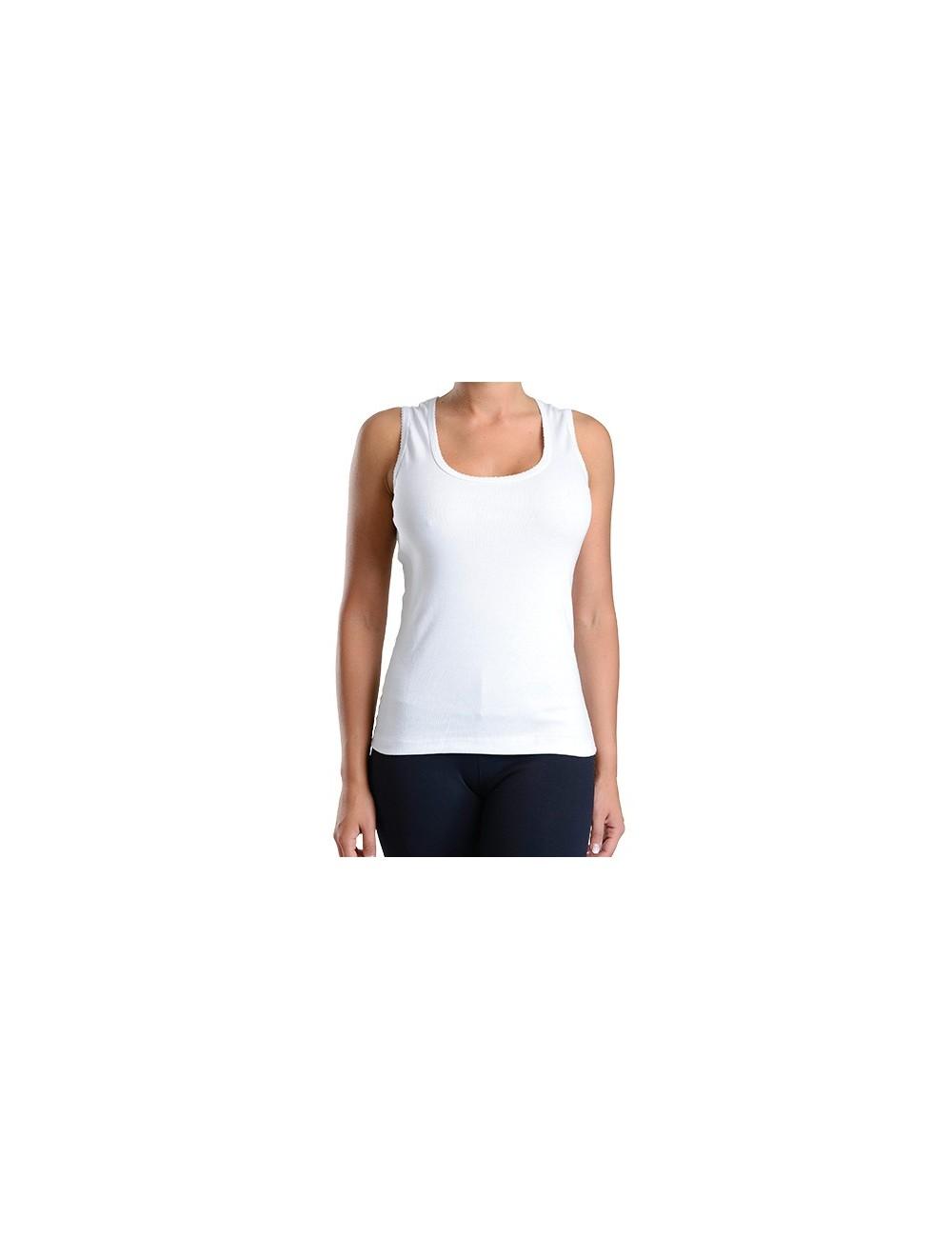 19ab29737501 Camiseta Sin Mangas Picueta Mujer.