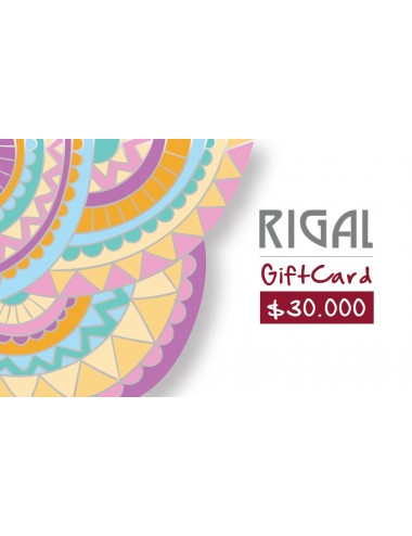 Giftcard $30.000 RIGAL